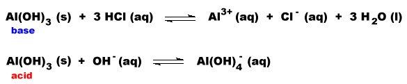 Aluminium Oxide Aluminium Oxide Is Amphoteric